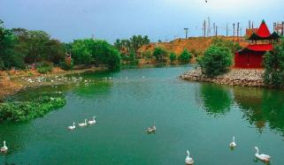 Kashmir Point Water Fall In Karachi