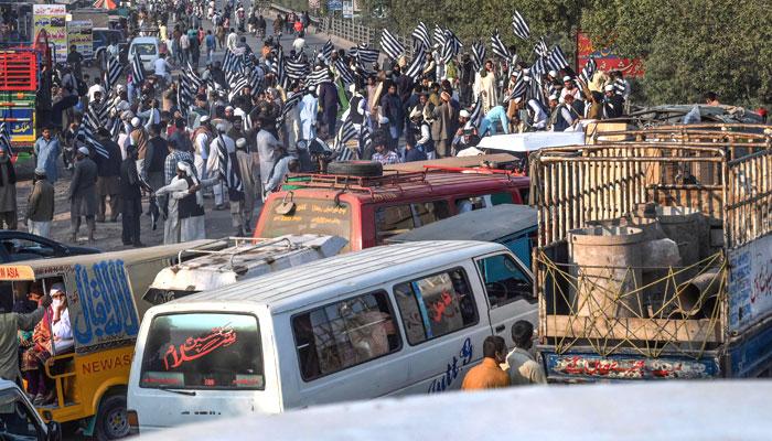 جے یو آئی کا پلان بی کے تحت لاہور میں دھرنا