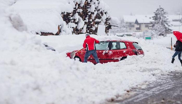 چین اور آسٹریا میں شدید برف باری