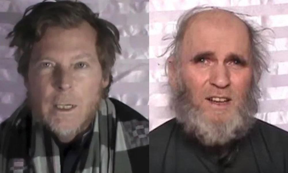 طالبان کی قید میں موجود دو غیر ملکیوں کو رہا کردیا گیا