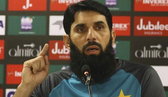 Press Conference Of Head Coach Misbah Ul Haq