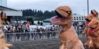 Jurassic Run Competitors Wearing