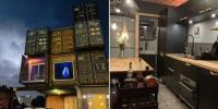 A Three Story House Constructed Out Of Shipping Containers Is This Designers Labor Of Love