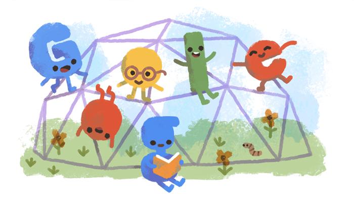 بچوں کے عالمی دن پر گوگل کا نیا ڈوڈل جاری