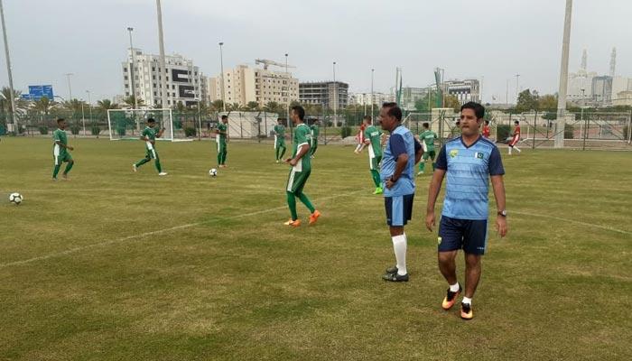 اومان میں ٹیم پاکستان کی اے ایف سی انڈر۔19چیمپئن شپ کوالیفائرز کی تیاریاں