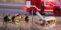 Small Plane Crashes On Utah Highway