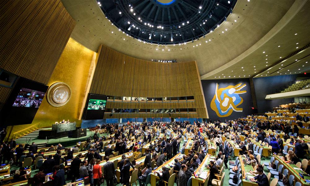 جنرل اسمبلی، حقِ خودارادیت کی حمایت میں پاکستانی قرار داد منظور