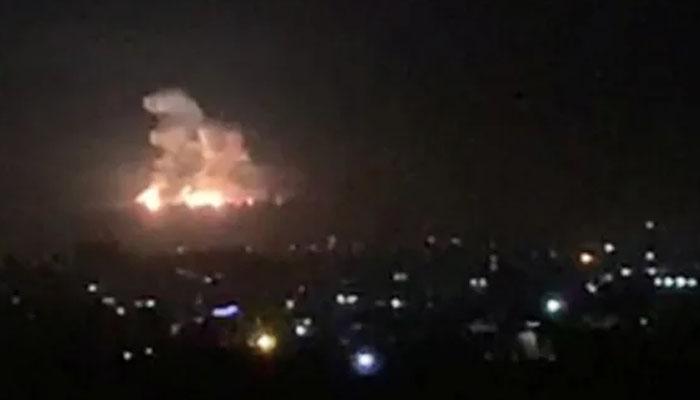 شام : اسرائیلی طیاروں کی بمباری، 23 افراد جاں بحق