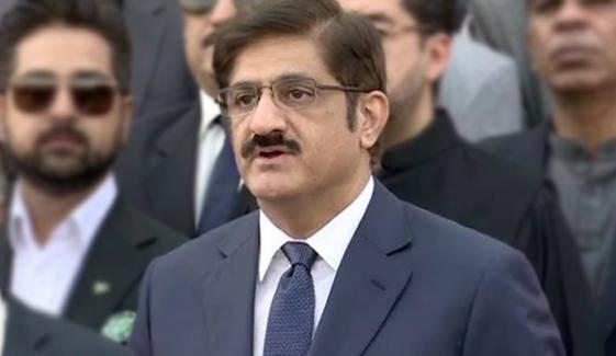 Cm Sindh Murad Ali Shah Media Talks In Karachi