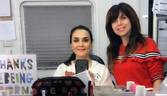 Preity Zinta And Mahnoor Baloch Working Together