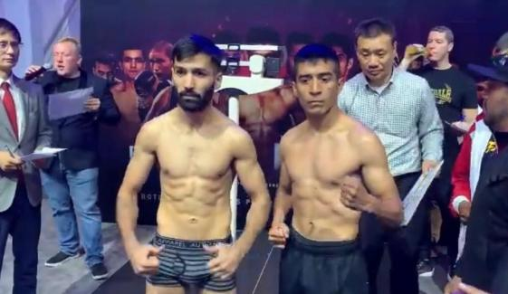 Boxer Muhammad Waseem Will Fight With Lopez