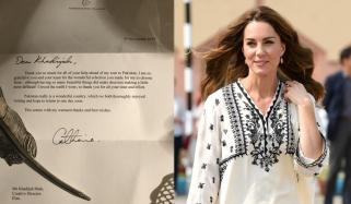 Kate Middleton Personally Thanks Pakistani Designer For Amazing Outfits
