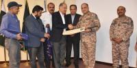 Sindh Under 19 Cricket Team Meets Dg Rangers