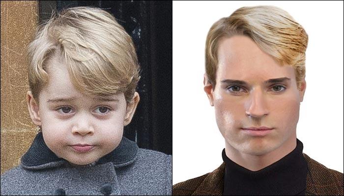 برطانوی شہزادے، شہزادیاں اپنی جوانی میں کیسے دکھائی دیں گے؟