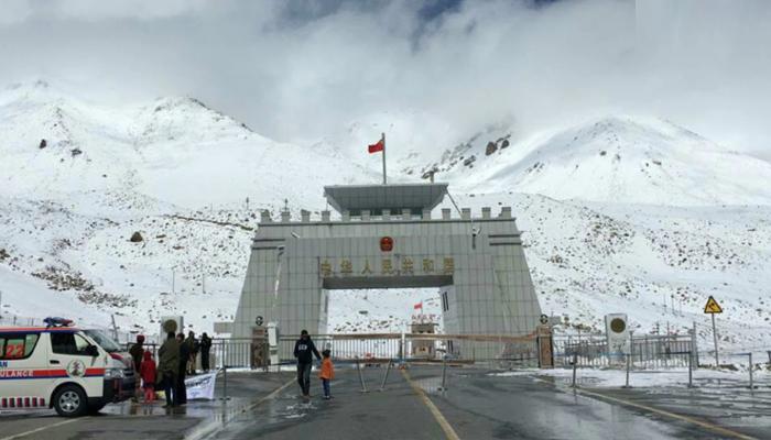 پاک چین سرحد برف باری کی وجہ سے کل سے 4 ماہ کیلئے بند