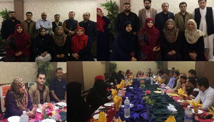 اوورسیز پاکستانیوں کے تحفظات دور کریں گے، ایم این اے نزہت پٹھان کا عشائیے سےخطاب
