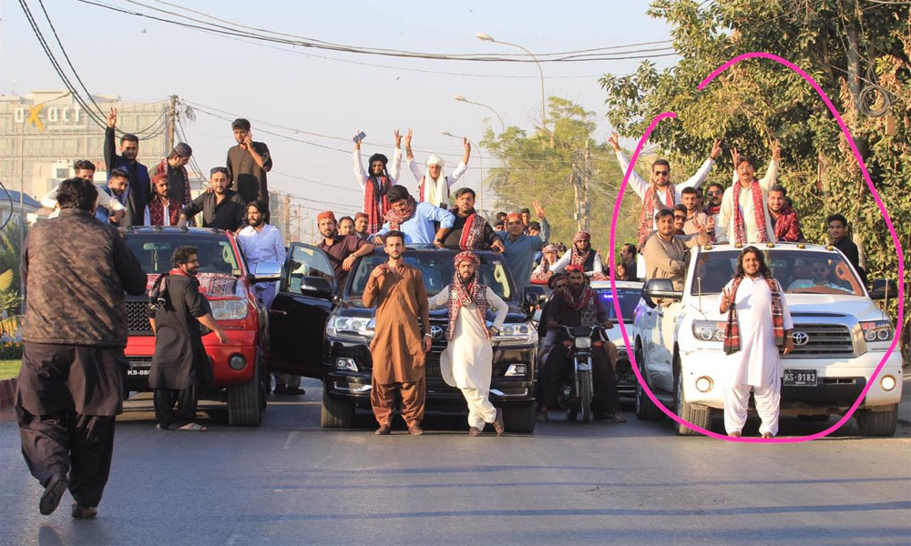 کراچی میں ہوائی فائرنگ، 2 افراد حیدر آباد سے گرفتار