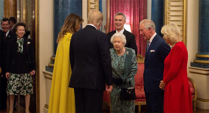 برطانوی شہزادی نے امریکی صدر کو نظر انداز کردیا