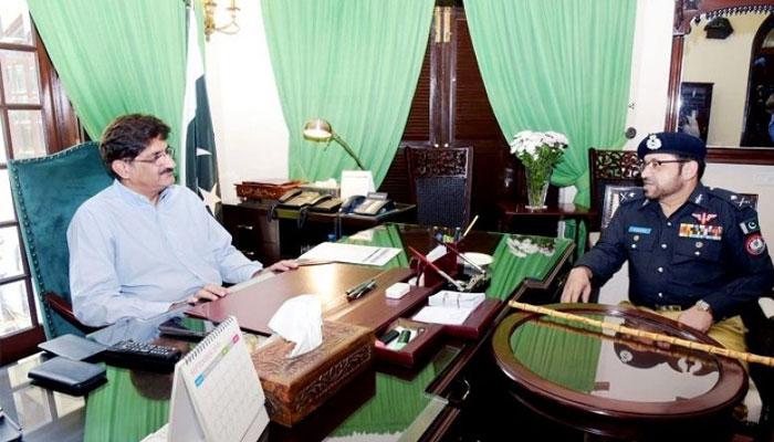 آئی جی سندھ کی غیر حاضری پر اظہار ناراضی