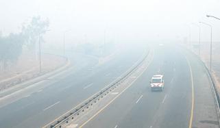 Lahore To Pindi Bhattian Motorway Closed Due To Fog