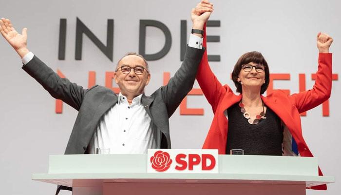 جرمنی: سوشل ڈیموکریٹس کی نئی منتخب قیادت