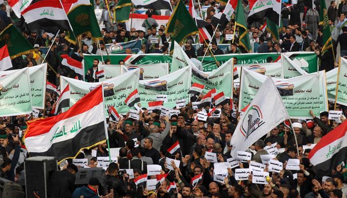 عراق: حکومت مخالف مظاہرین کے کیمپ پر حملہ، 12 افراد ہلاک