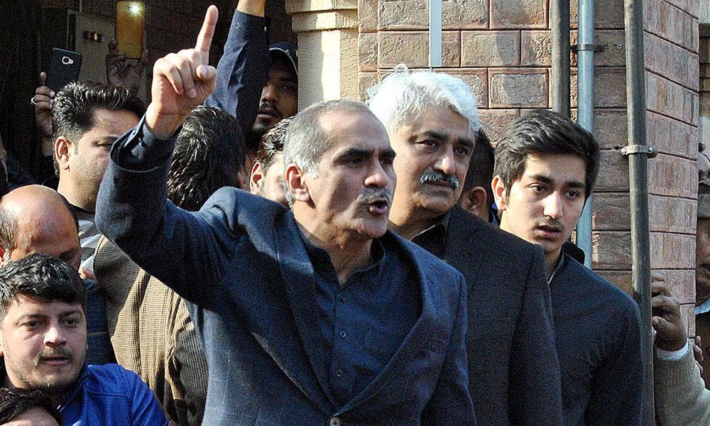 پولیس رپورٹرز کو کمرہ عدالت میں آنے نہیں دیتی، سعد رفیق