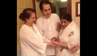 I Am Very Happy My Younger Sister Lata Mangeshkar Has Returned Home Dilip Kumar