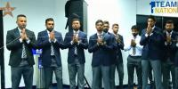 Sri Lankan Team Pray In Traditional Style Before Leaving For Pakistan