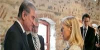Fm Qureshi And Alice Wells Meeting In Istanbul