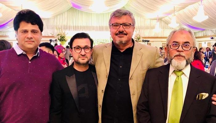 مزاحیہ اداکار ایاز خان کے بیٹے کی شادی میں نامور فنکاروں کی شرکت