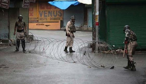 Kashmiris Observes Human Rights Day As Black Day