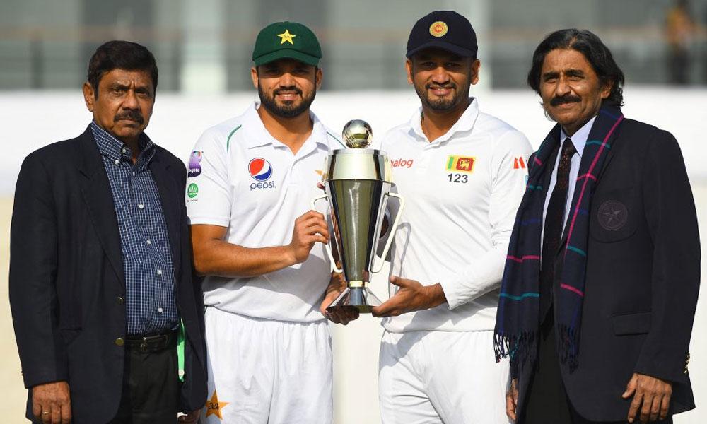 سری لنکا کا پاکستان کیخلاف بیٹنگ کا فیصلہ
