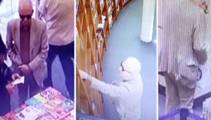 غیرملکی سفیر چوری کرتے پکڑے گئے،  ویڈیو وائرل