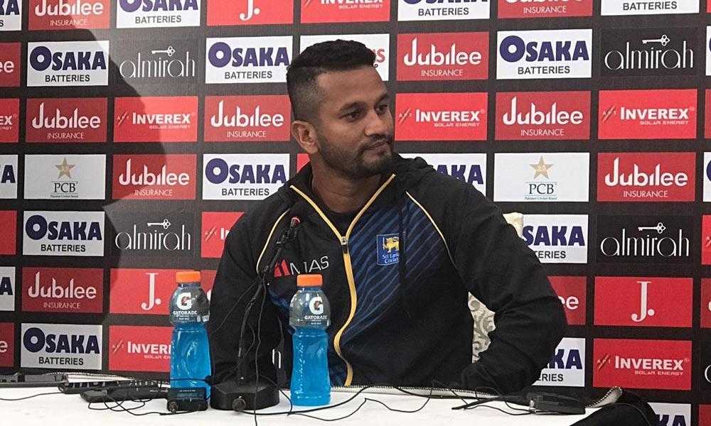 سری لنکن کپتان نے ٹاس جیت کر بیٹنگ کرنے کی وجہ بتادی!