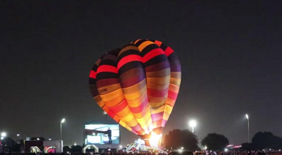 قطر: پہلے ہاٹ ائیر بیلون فیسٹیول کا آغاز