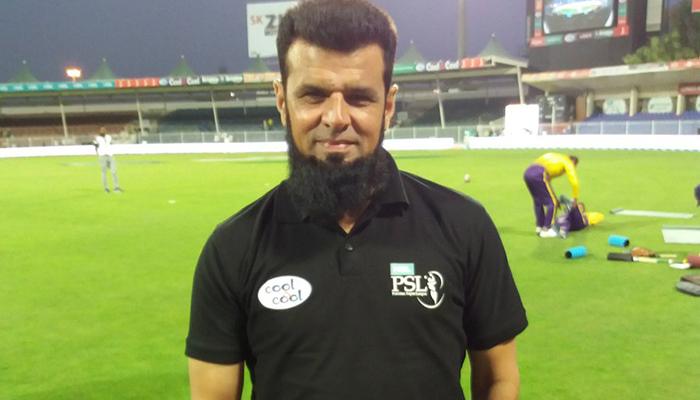 پاکستانی امپائر علیم ڈار کا نیا ریکارڈ