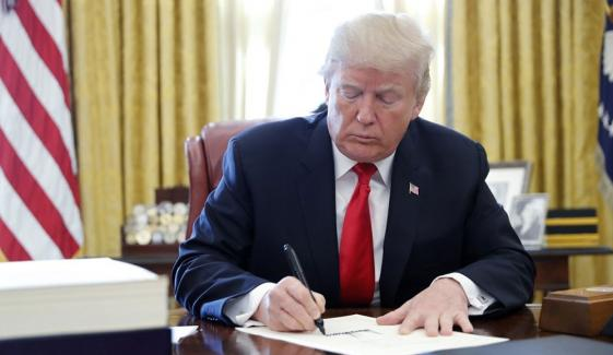 Trump Pass An Ordinance Against Jewish Boycott