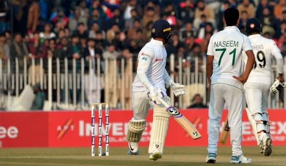 Pindi Test Day 2 Play Stopped Due To Rain