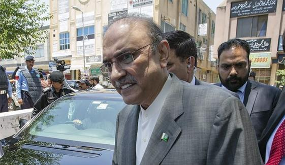Asif Zardari Reached At Karachi