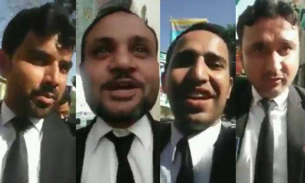 ''کراچی کے ڈاکٹروں کو بھی نہیں چھوڑیں گے'' وکلاء کی دھمکی