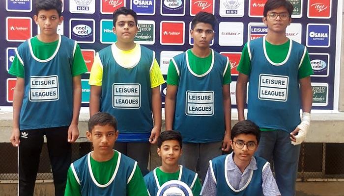 لیژر لیگز فٹ بال: حسن عادل اور ذوالنورین کی ہیٹ ٹرکس