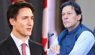 Prime Minister Imran Khan Congratulates Justin Trudeau