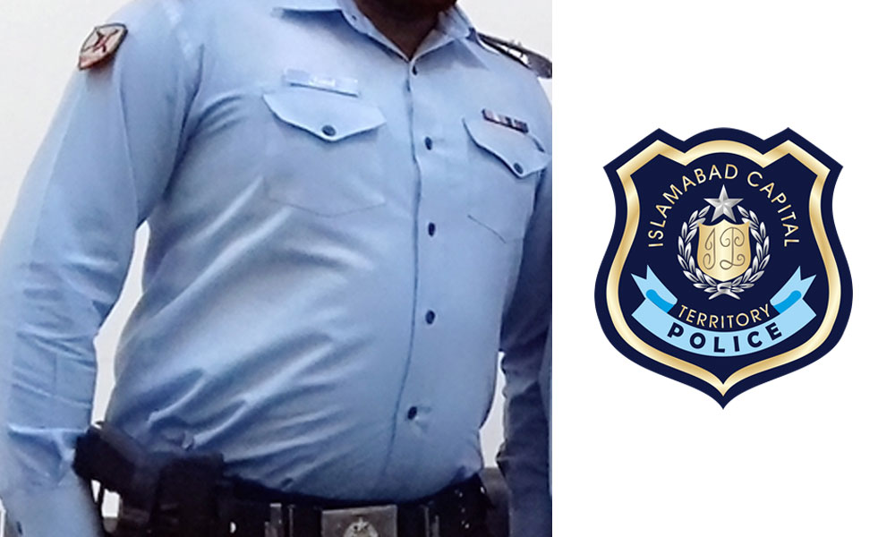 اسلام آباد، پولیس یونیفارم میں کیمرے نصب ہونگے