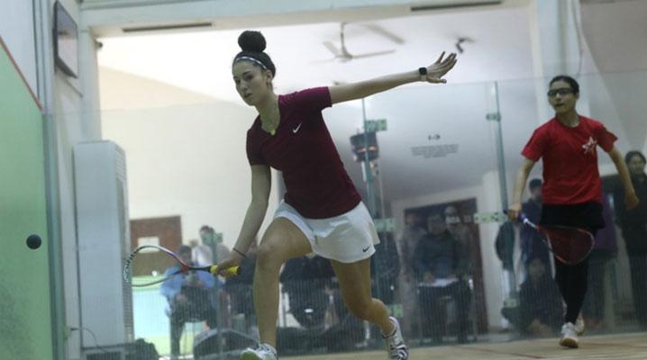 انٹرنیشنل اسکواش: پاکستان کے نور زمان نے مصری کھلاڑی کو ہرا دیا