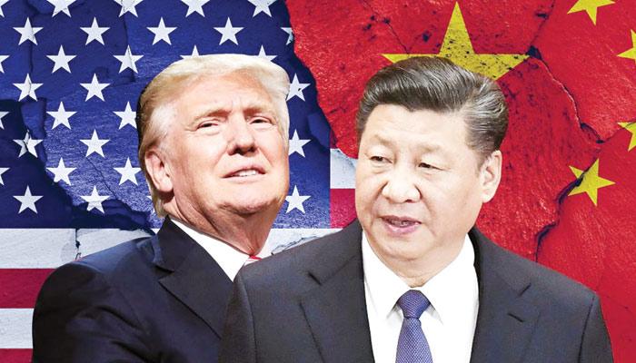 ڈونلڈ ٹرمپ اور ان کے چینی ہم منصب  شی جنگ پنگ کے درمیان تجارتی ٹکراؤ