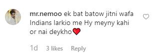 سامعہ نے حسن علی کو گلاب دے کراپنی محبت کا اظہار کیا