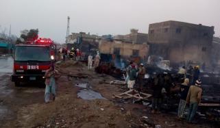 How Did The Fire At Karachi Fish Harbor Go