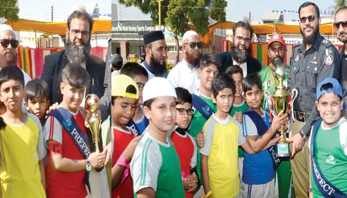عمان ویٹرنز ہاکی ٹیم کی کراچی آمد، شوٹنگ بال ایونٹ ختم