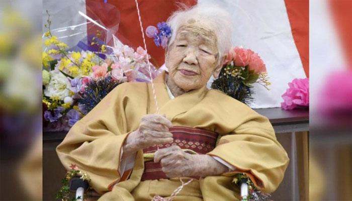 دنیا کی معمر ترین انسان جاپان کی کین ٹاناکاکی 117ویں سالگرہ